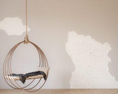 hangstoelen voor in de woonkamer