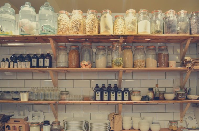 Inspiratie voor planken in de keuken meubel