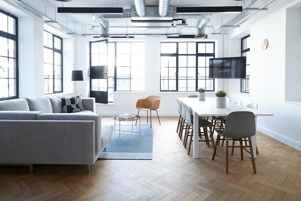 minimalistich interieur