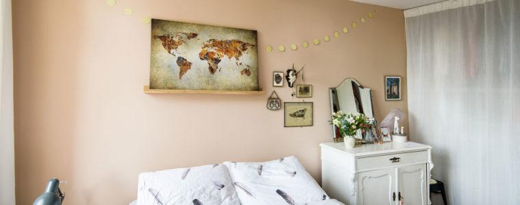 wereldkaarten voor aan de muur