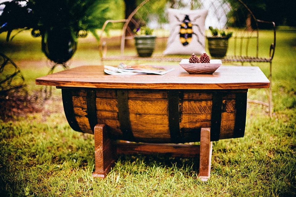 meubels van oude artikelen