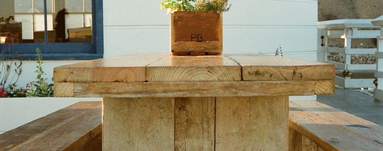 steigerhouten bar maken