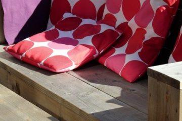 steigerhouten loungebank maken