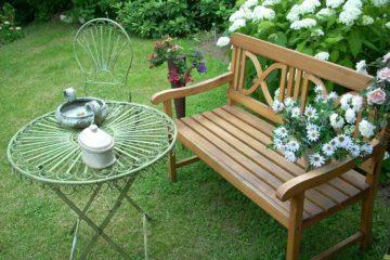 zelf tuinbanken maken