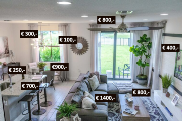 Wat kost inrichting huis