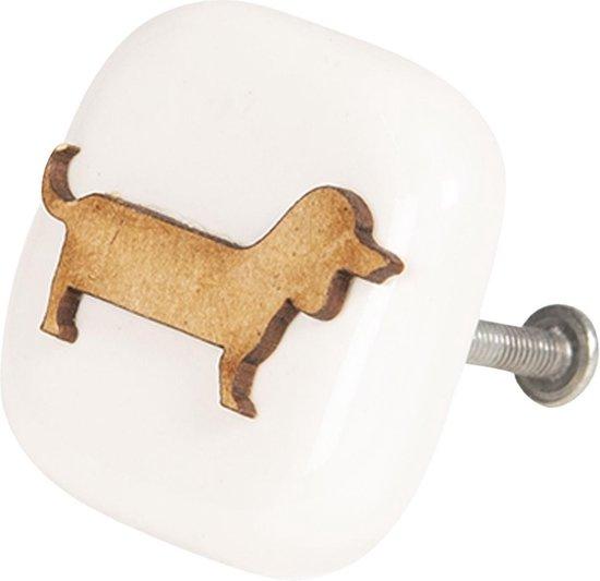 deurknop hond teckel