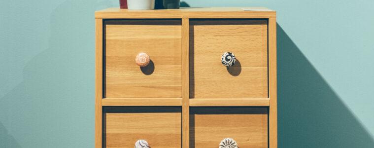 meubelknoppen op kastje
